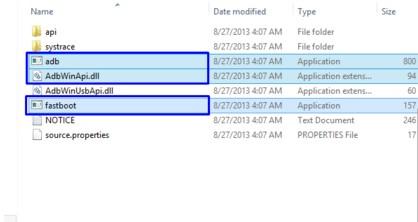 adb files