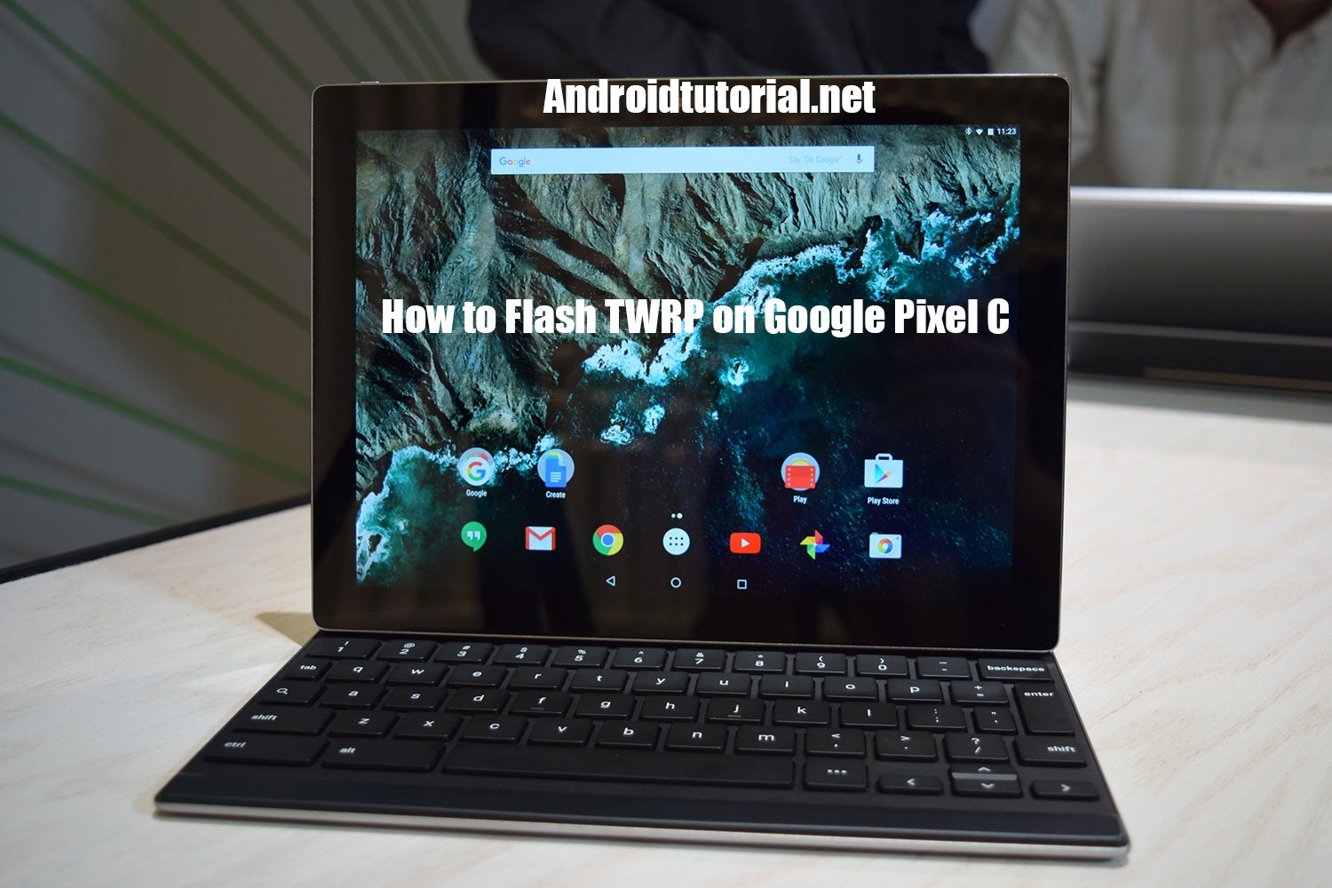 flash twrp on google pixel c