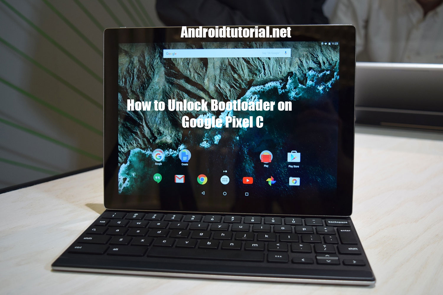 how to unlock bootloader on Google pixel c