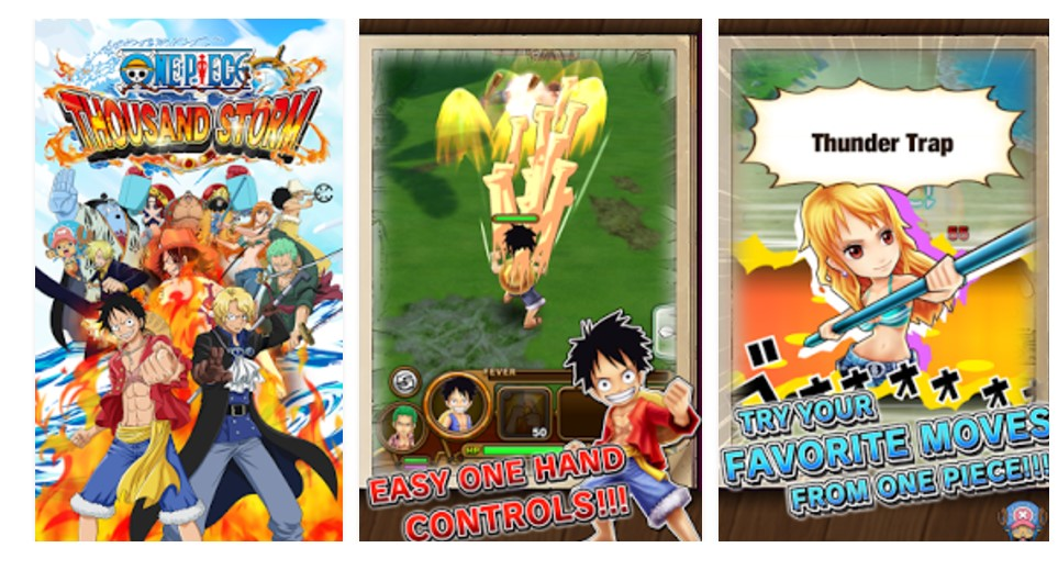 download one piece thousand storm apk for android