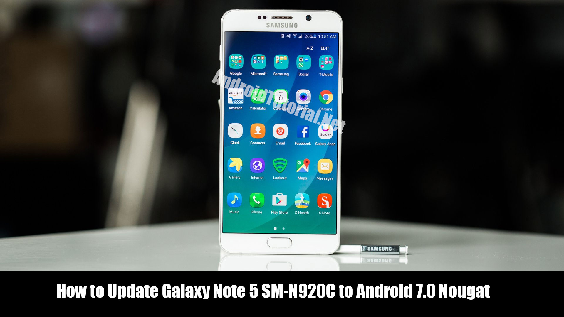 How to Update Galaxy Note 5 SM-N920C to Android 7 0 Nougat