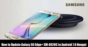 Flash Android 7.0 Nougat on Samsung Galaxy S6 Edge+