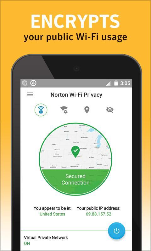 Download Norton WiFi Privacy Secure VPN 2 0 3 9015 b93270e