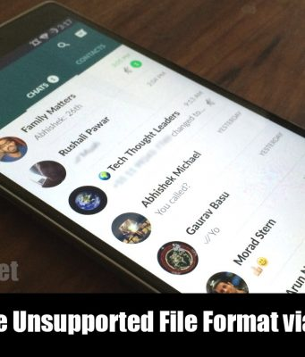how to send audio files via whatsapp
