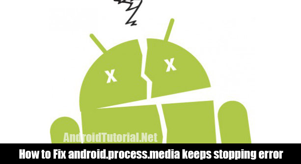 fix android.process.media error on Android