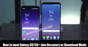 Boot Galaxy S8 and S8+ into recover mode or download mode