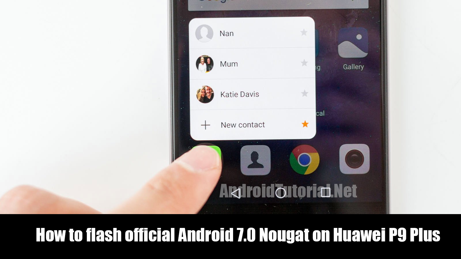 flash official Android 7.0 Nougat on Huawei P9 Plus