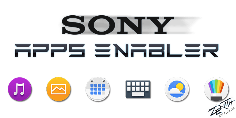 sony apps enabler