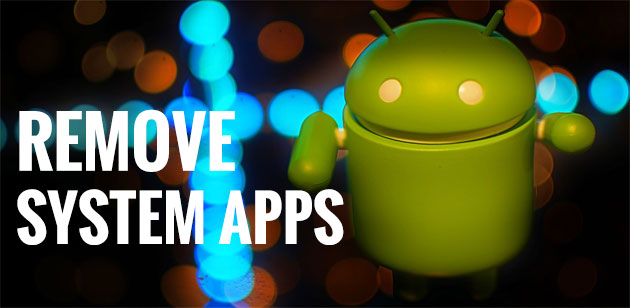 How to Disable System Apps in Android