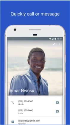 Download Google Contacts 2.0 APK