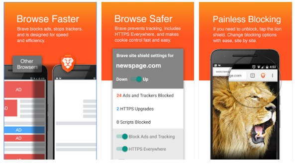 Download Brave Browser 1.0.21 APK for Android ...