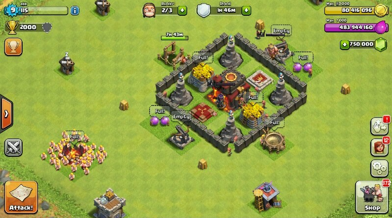 Clash of Clans 9.105.9 modded APK