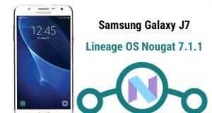 Nougat Custom ROM on Galaxy J7