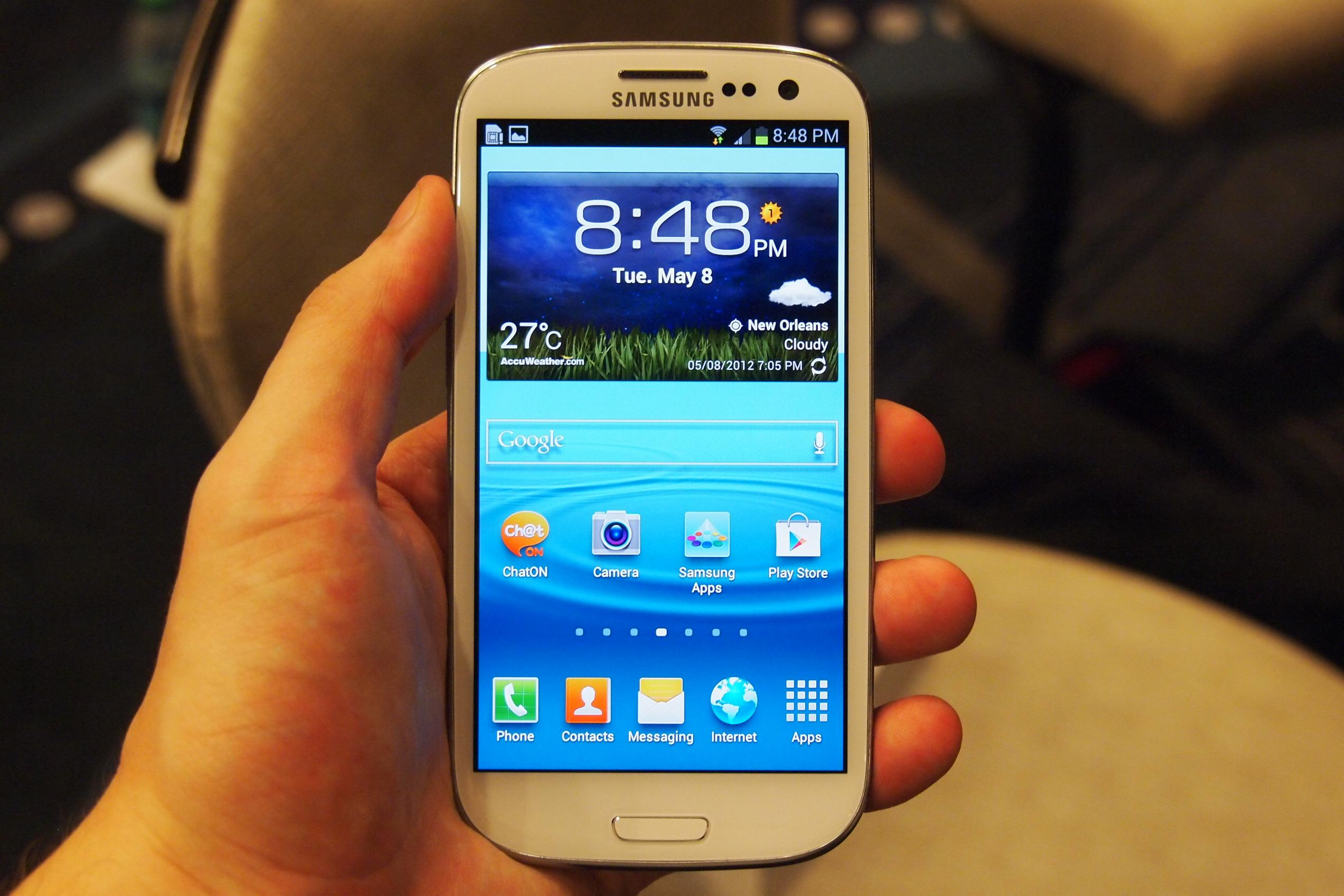 Custom ROM on Galaxy S3