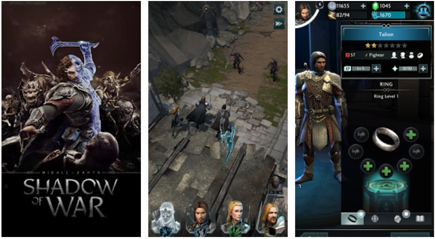 download middle earth shadow of war apk for android