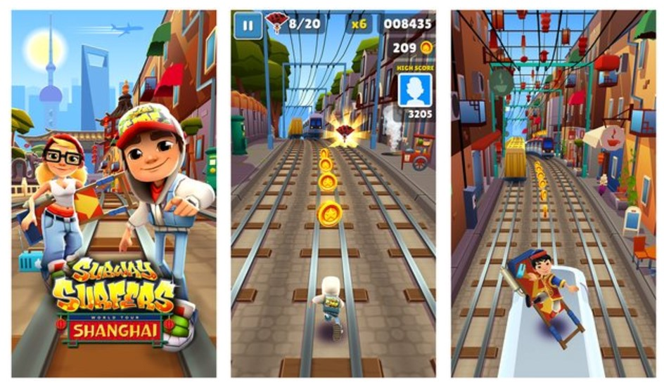 subway surfers 1.74.0 Shanghai APK