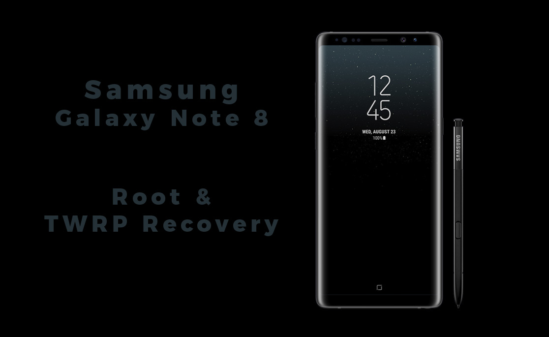 Root Galaxy Note 8