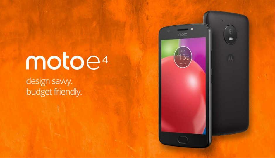 Android 7.1.2 Nougat on Moto E4