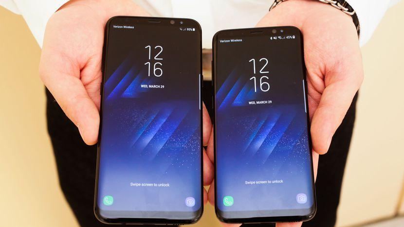 update Galaxy S8