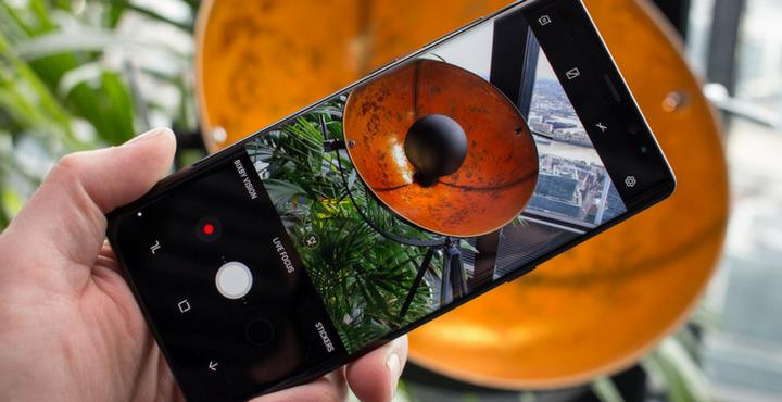 Galaxy Note 8 Zero Camera Mod