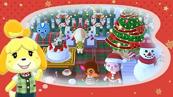 Animal Crossing Pocket Camp Christmas Event