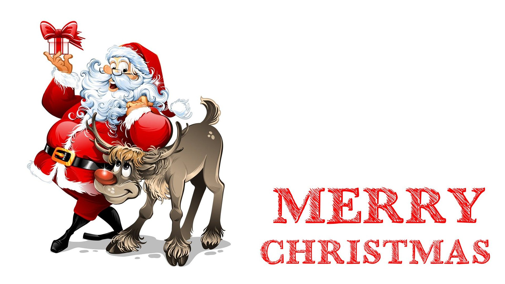 Happy Merry Christmas 2018 Wallpapers