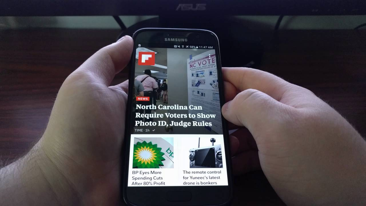 Disable Flipboard on Galaxy S8