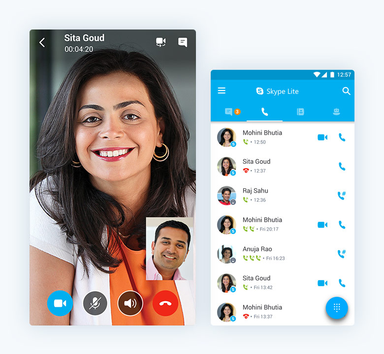 Download Skype Lite 1 25 0 28891 APK for Android
