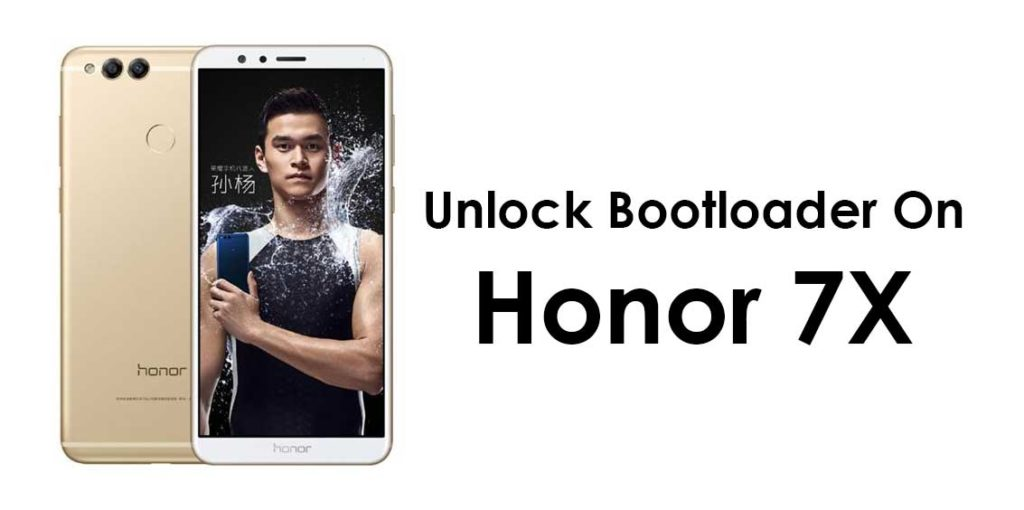 Unlock Bootloader on Huawei Honor 7X