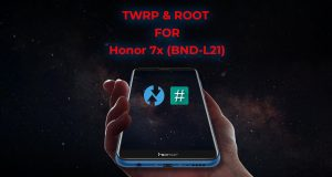 Install TWRP on Huawei Honor 7X