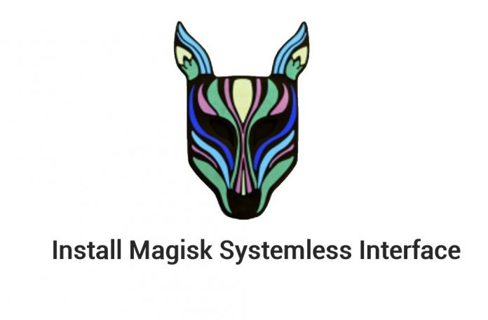 Install Magisk Systemless Interface