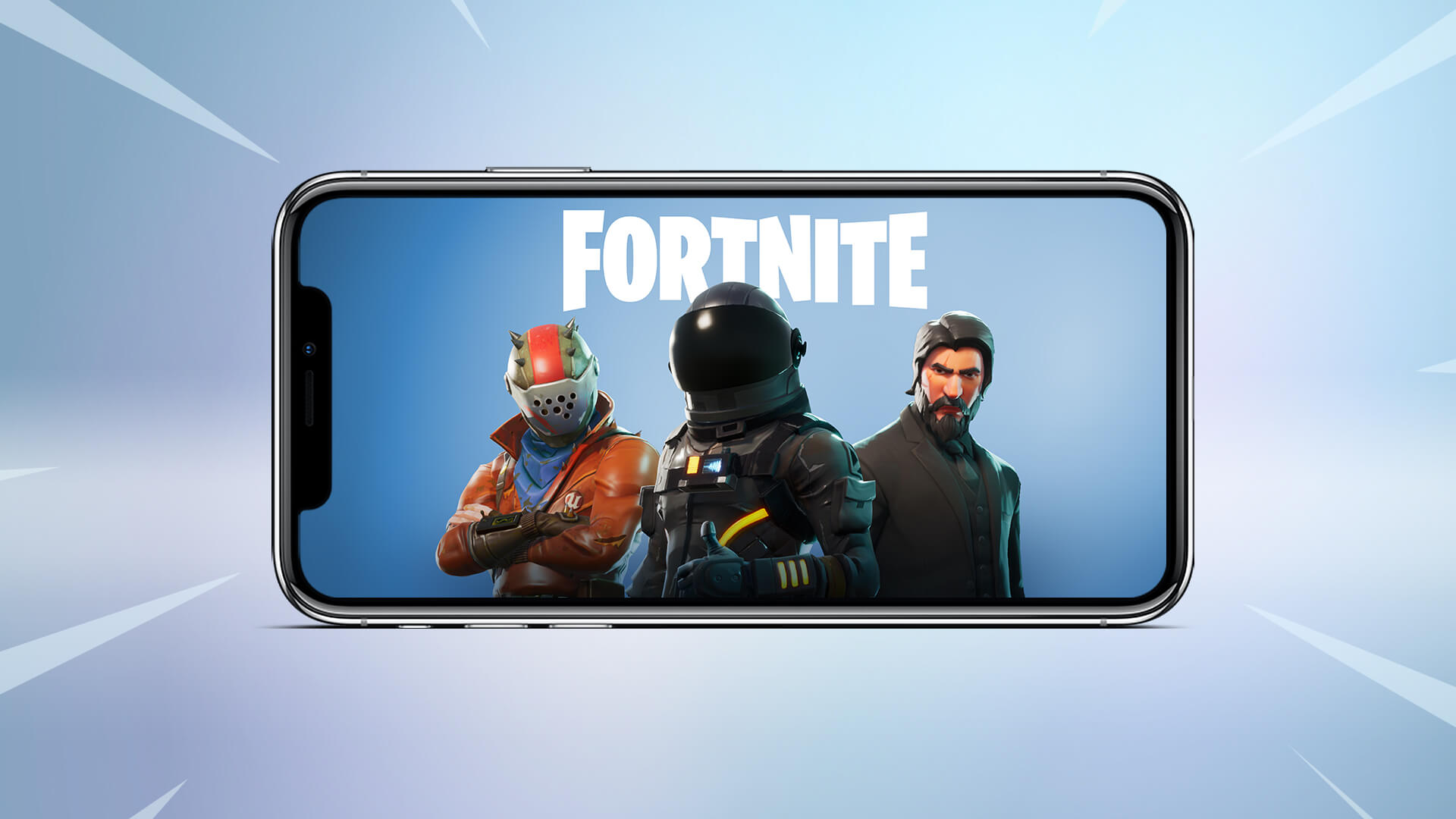 sign up for Fortnite mobile