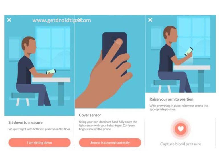 Download Galaxy S9 Blood Pressure Monitoring App APK