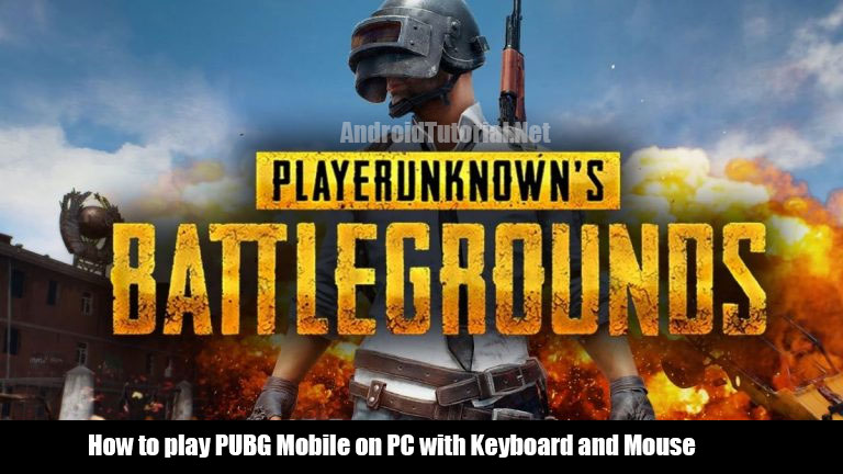 play PUBG Mobile on PC with keyboard and mouse