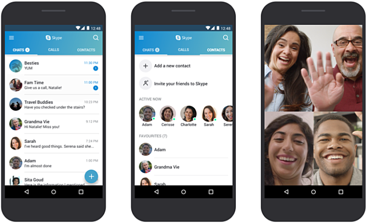 latest skype for low end devices