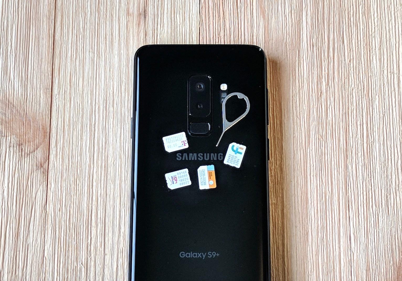 Change SIM Pin Code on Galaxy S9