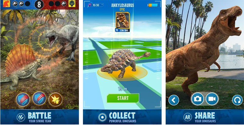 Jurassic World Alive 1.2.21 APK