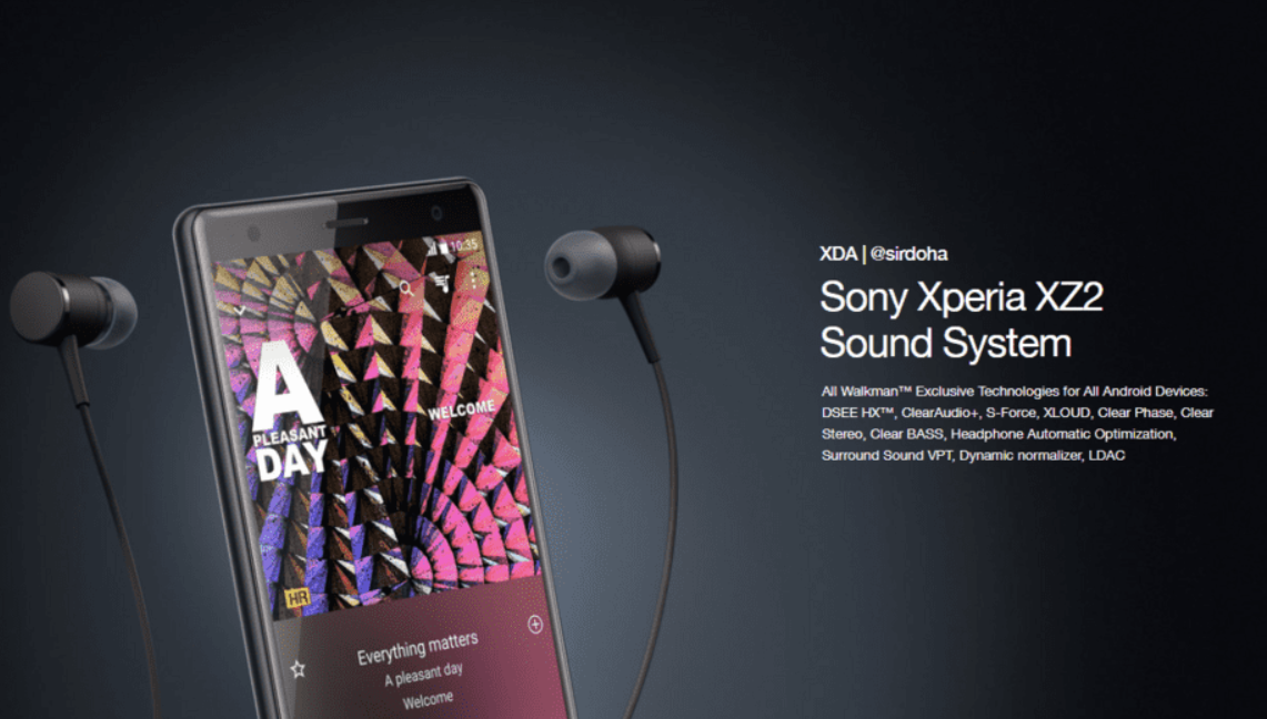 Xperia XZ2 Sound System on Any Android Phone