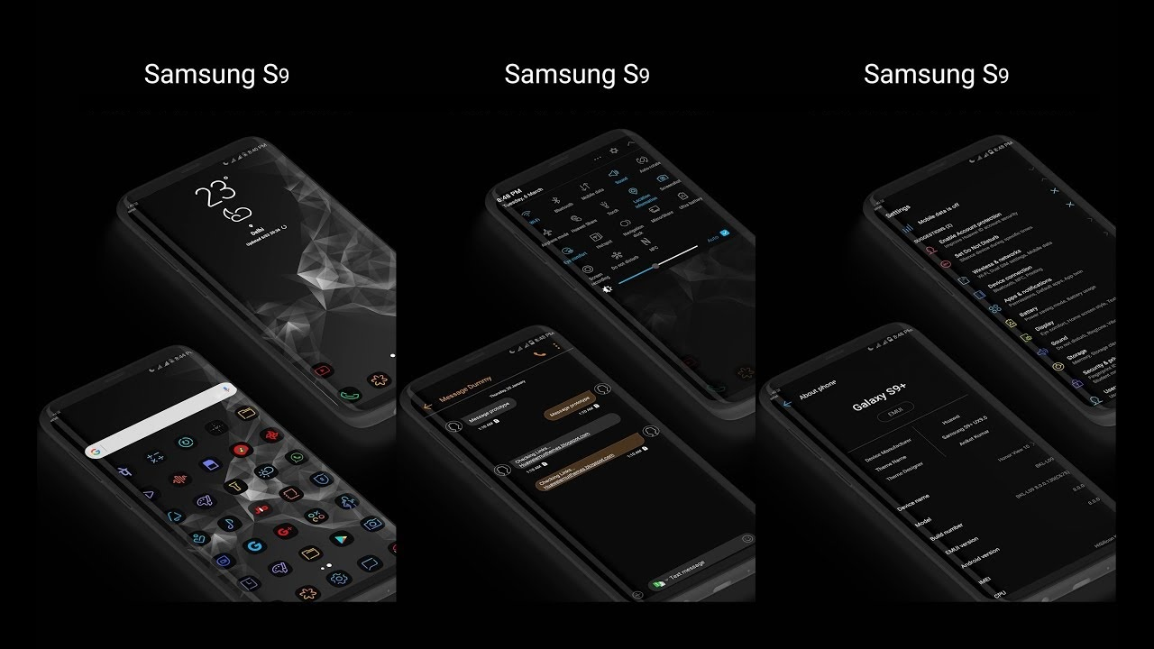 Activate Ultra Dark Mode on Galaxy S9