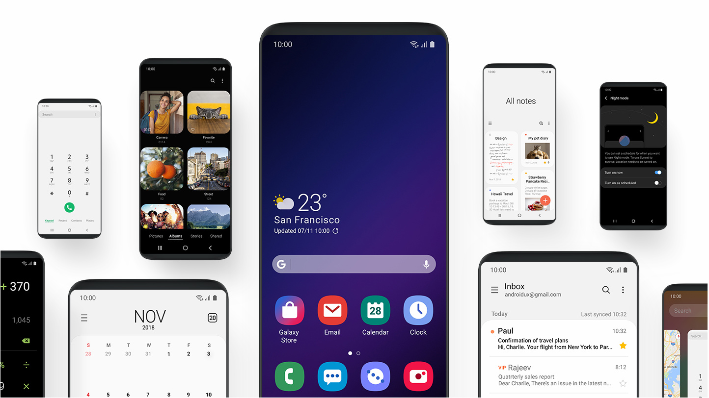 Download Samsung One UI Beta