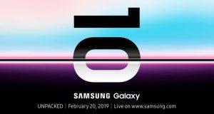 Galaxy S10 Launch Date