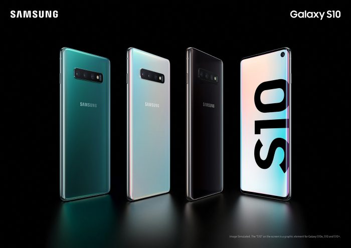 Take Screenshots on Galaxy S10