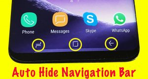 hide navigation bar
