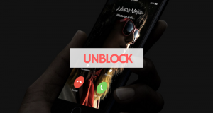 unblock a phone number