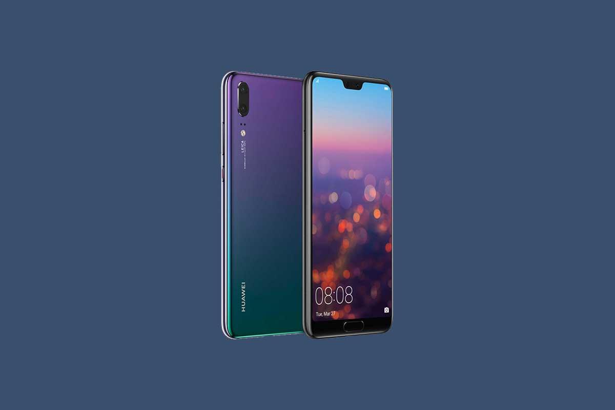 Huawei P20 EML-L29 November 2018 Security