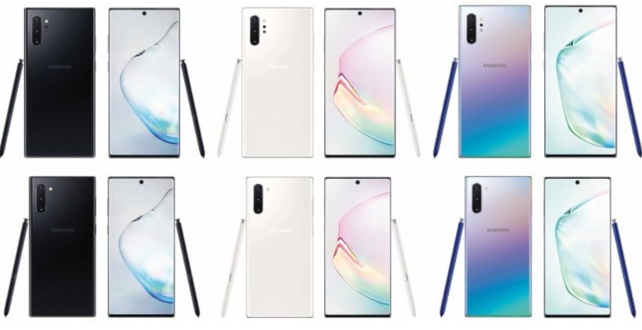note10 variants