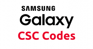 Country Specific Codes for Samsung Devices