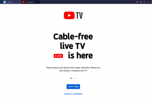 Download YouTube TV for PC