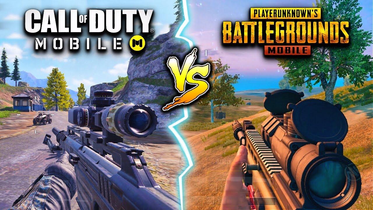 Call of Duty Mobile vs PUBG Mobile