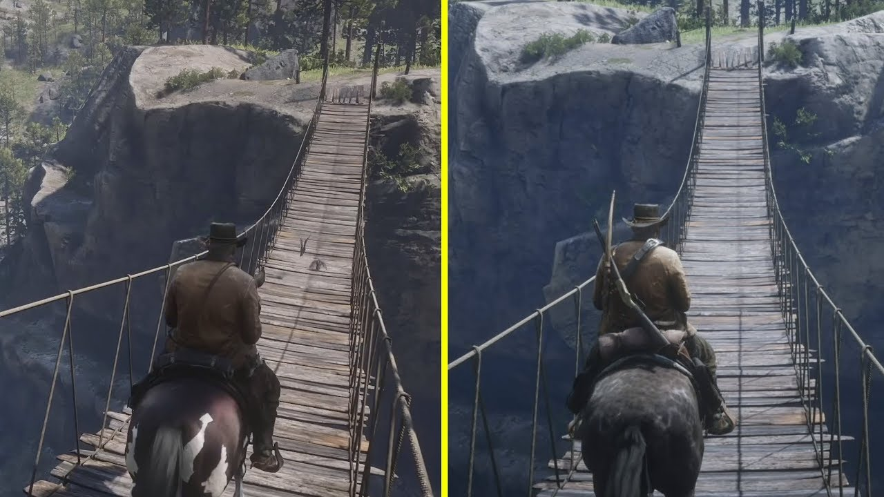 Red Dead Redemption 2 Comparison